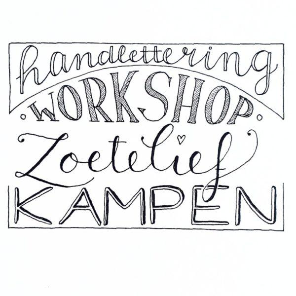 workshop handlettering kampen