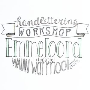 workshop handlettering emmeloord