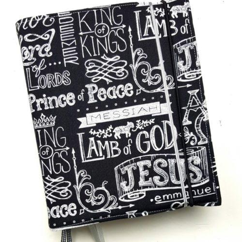 bijbelhoes zwart wit