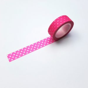 washi tape neon roze pink