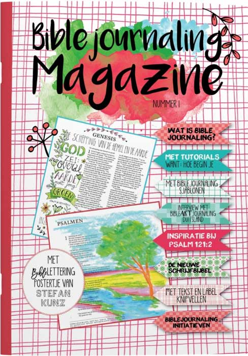 Bible Journaling Magazine - Marjoleins Creations