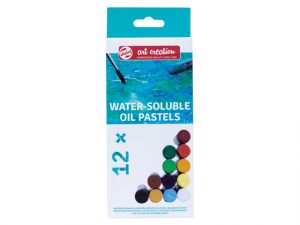 talens wateroplosbare pastels 12
