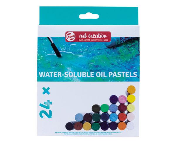 wateroplosbare pastels 24