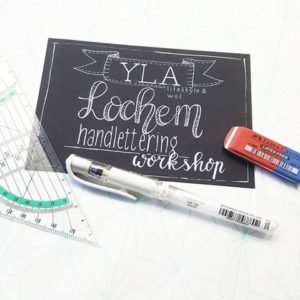 handlettering workshop lochem
