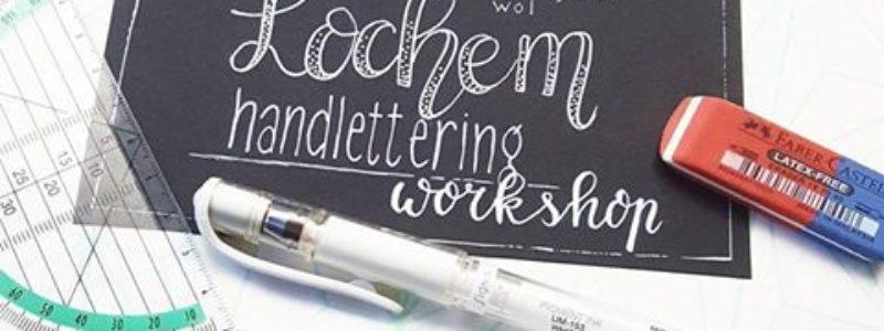 handlettering workshop lochem