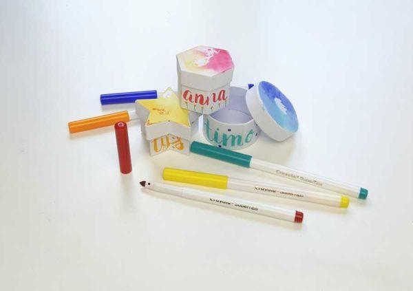 paper passion beurs handlettering voor kinderen