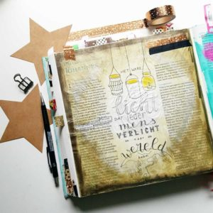 biblejournaling workshop kerst marjoleins creations