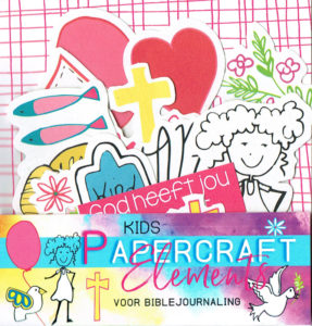 Papercraft element biblejournaling kinderen