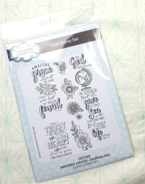 Clearstamps Creative Expressions Amazing Grace
