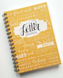 handletter journal bullet journal karlijn van de wier
